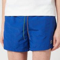 PS Paul Smith Men's Zebra Swim Shorts - Blue - XL