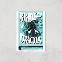 Brides Of Dracula Giclee Art Print - A3 - Print Only