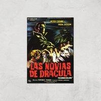 Las Novias De Dracula Giclee Art Print - A2 - Print Only