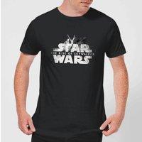 Star Wars: The Rise Of Skywalker Rey + Kylo Battle Men's T-Shirt - Black - L - Black