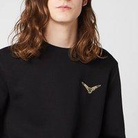 Harry Potter Golden Snitch Unisex Embroidered Sweatshirt - Black - S