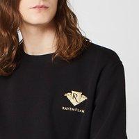 Harry Potter Ravenclaw Unisex Embroidered Sweatshirt - Black - S - Black