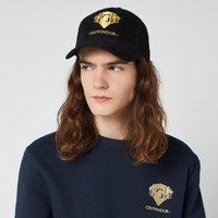 Harry Potter Gryffindor Embroidered Cap - Black