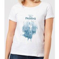 Frozen 2 Find The Way Women's T-Shirt - White - M - White