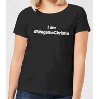 I Am #WagathaChristie Women's T-Shirt - Black - S - Black