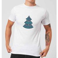 Christmas tree Men's T-Shirt - White - 4XL - White