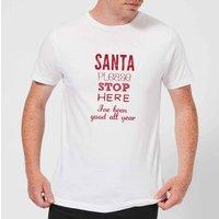 Please santa Men's T-Shirt - White - 5XL - White