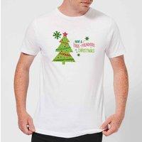 Tree Mendous Men's T-Shirt - White - M - White
