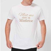 Meet me Mens T-Shirt - White - L - White
