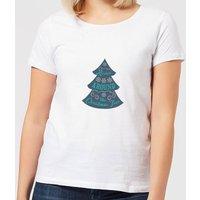 Christmas tree Women's T-Shirt - White - 5XL - White