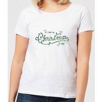 All I want for christmas Women's T-Shirt - White - 5XL - White