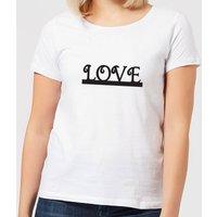 Love Women's T-Shirt - White - 4XL - White