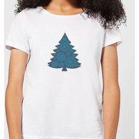 Snowflake tree Women's T-Shirt - White - 5XL - White