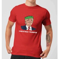 Christmas Trumper Mens T-Shirt - Red - S - Red