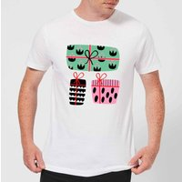 Colourful Presents Mens T-Shirt - White - S - White