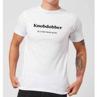 Knobdobber Men's T-Shirt - White - 5XL - White