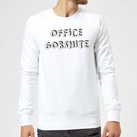 Office Gobshite Sweatshirt - White - XL - White