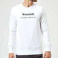 Wazzock Sweatshirt - White - XXL - White