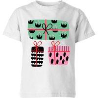 Colourful Presents Kids' T-Shirt - White - 5-6 Years - White