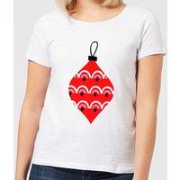 Bauble Women's T-Shirt - White - S - White