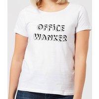 Office Wanker Women's T-Shirt - White - 4XL - White