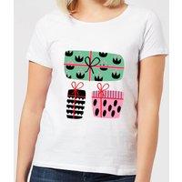 Colourful Presents Women's T-Shirt - White - 3XL - White