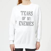 Tears Of My Enemies Women's Sweatshirt - White - M - White