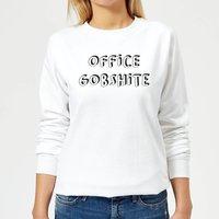 Office Gobshite Women's Sweatshirt - White - XXL - White