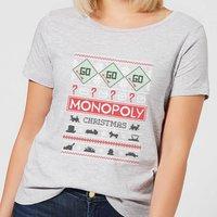 Monopoly Women's Christmas T-Shirt - Grey - XXL - Grey