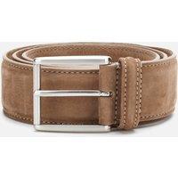 Anderson's Men's Matt Silver Suede Belt - Beige - W30/S