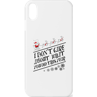 Tobias Fonseca I Don't Care About What You Did This Year Phone Case for iPhone and Android - iPhone