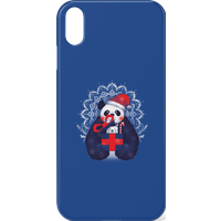 Tobias Fonseca Xmas Panda Phone Case for iPhone and Android - iPhone X - Snap Case - Gloss