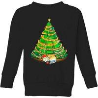 Tobias Fonseca My Favorite Xmas Tree Kids' Sweatshirt - Black - 5-6 Years - Black