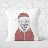 Santa Lion Square Cushion - 50x50cm - Soft Touch