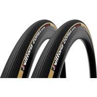 Vittoria Corsa Control G2.0 Tubular Road Tyre Twin Pack - 700x30mm - Para/Black