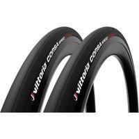 Vittoria Corsa Speed G2.0 Tubular Road Tyre Twin Pack - 700x23mm - Full Black