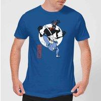 Samurai Jack Eternal Battle Men's T-Shirt - Royal Blue - L - royal blue