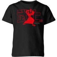 Samurai Jack Way Of The Samurai Kids' T-Shirt - Black - 9-10 Years - Black