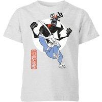 Samurai Jack Eternal Battle Kids' T-Shirt - Grey - 9-10 Years - Grey
