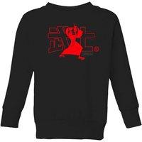 Samurai Jack Way Of The Samurai Kids' Sweatshirt - Black - 11-12 Years - Black