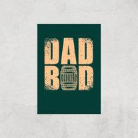 Dad Bod Art Print - A2 - Print Only