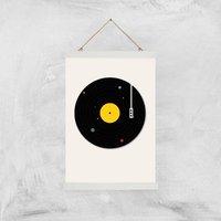 Florent Bodart Music Everywhere Art Print - A3 - Wood Hanger - Music Gifts