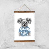 Balazs Solti Koala Bear Art Print - A3 - Wood Hanger