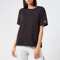 Champion Women's Oversized Crew Neck T-Shirt - Black - S