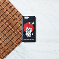 Ramen Lucky Cat Phone Case for iPhone and Android - iPhone 6S - Snap Case - Matte