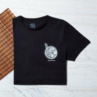 Haruto's Fine Ramen Pocket Print T-Shirt - Black - 4XL - Black