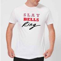 Slay Bells Ring Men's T-Shirt - White - XL - White