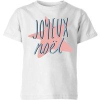 Joyeux Noel Kids' T-Shirt - White - 7-8 Years - White