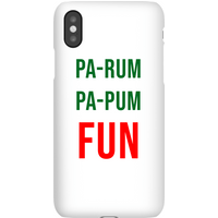 Pa-Rum Pa-Pum Fun Phone Case for iPhone and Android - iPhone 7 - Snap Case - Matte