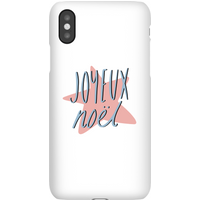 Joyeux Noel Phone Case for iPhone and Android - Samsung S7 - Snap Case - Matte